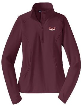 Picture of  Sport-Tek® Ladies Sport-Wick® Stretch 1/2-Zip Pullover (LST850)