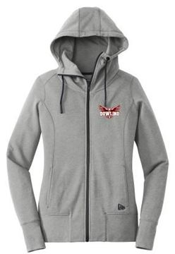 Picture of New Era® Ladies Tri-Blend Fleece Full-Zip Hoodie (LNEA511)