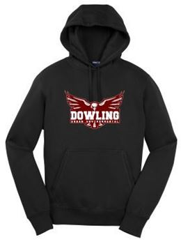 Picture of Gildan® - Youth Heavy Blend™ Hooded Sweatshirt (18500B)(Eagle)