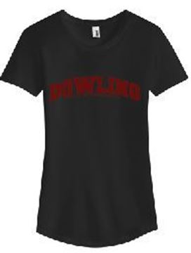 Picture of Anvil® Ladies Tri-Blend Tee (6750L)(Dlogo)