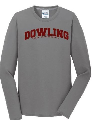 Picture of Port & Company® Youth Long Sleeve Core Cotton Tee (PC54YLS)